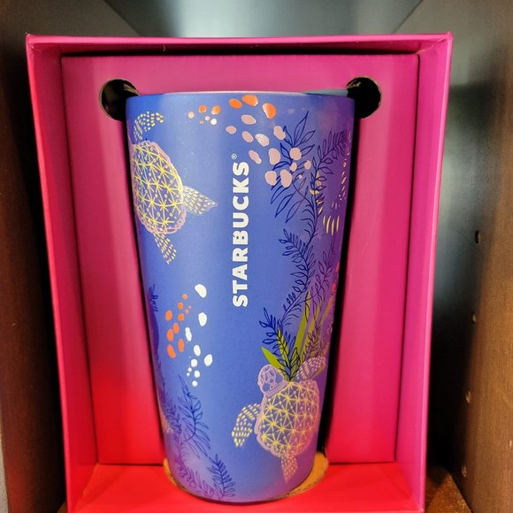 Rare Starbucks Hawaii Purple Ceramic Coffee Mug
